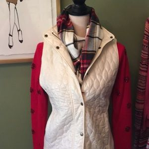 NWT Talbots quilted vest